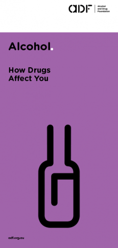 Alcohol - How drugs affect you, cover