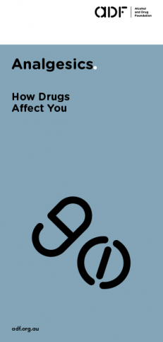 Analgesics- How drugs affect you, cover