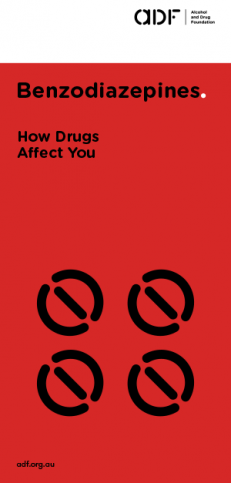 Benzodiazepines - How drugs affect you, cover