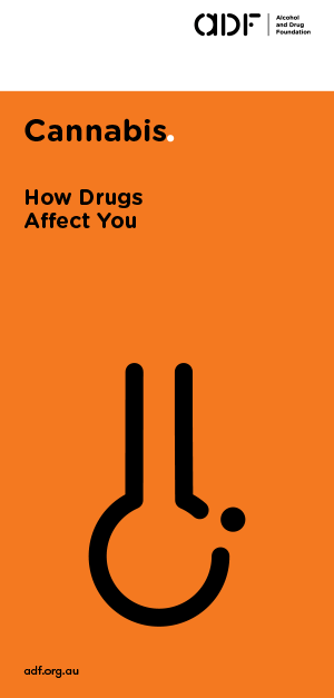 cannabis - How drugs affect you, cover