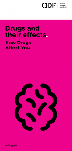 cover, Drugs and their effects, How drugs affect you