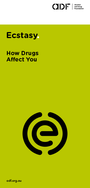 ecstasy - How drugs affect you, cover