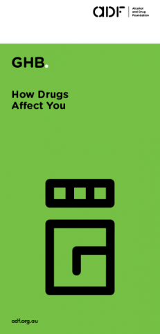 cover, GHB - how drugs affect you,