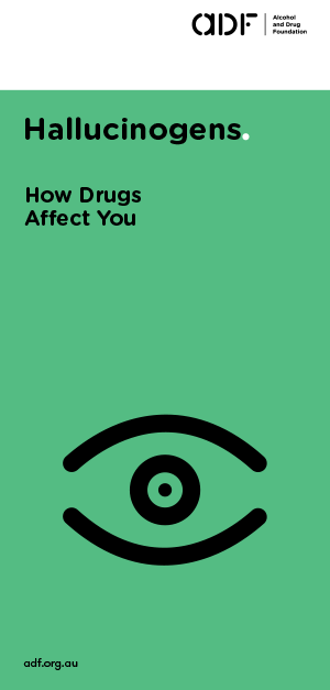 Hallucinogens - How drugs affect you, cover