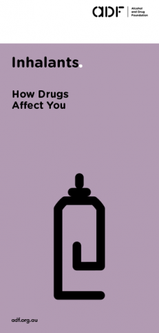 inhalants - How drugs affect you, cover