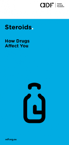 Steroids - How drugs affect you, cover