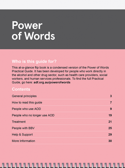 the Power of Words index